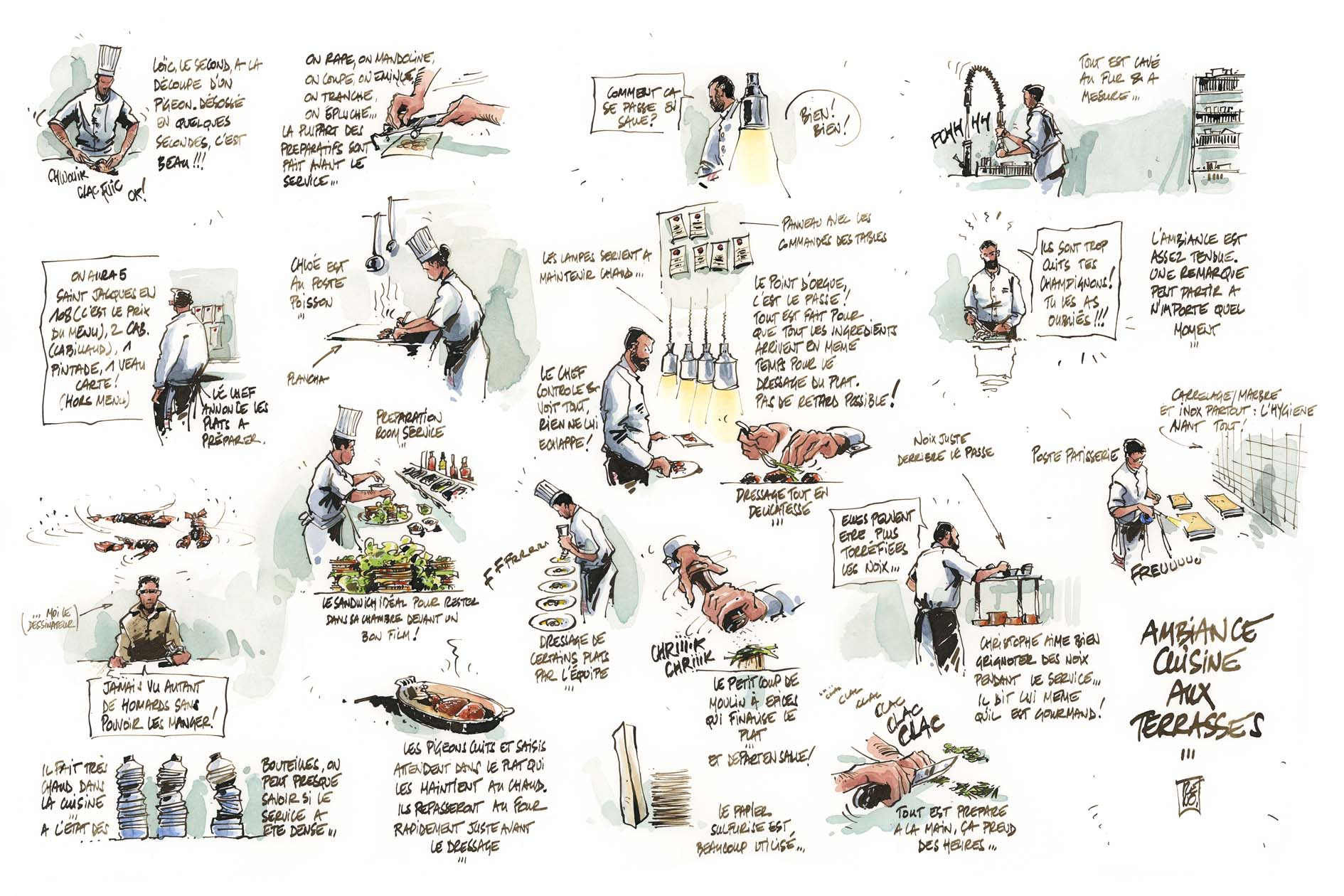 Aribert renomarca christophe aribert le blog - Liste ustensiles de cuisine ...
